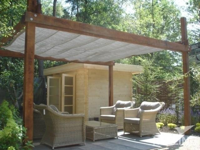 Solární plachty na altánky