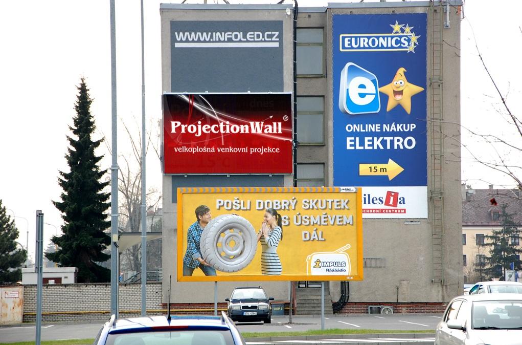 pronájem velkoplošné LED obrazovky Olomouc