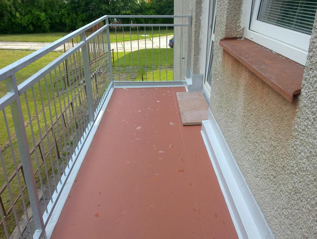 Hydroizolace balkonů, Trutnov