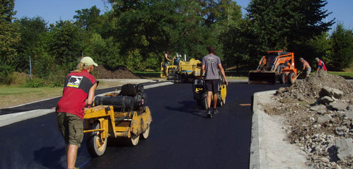 Oprava vozovek Praha