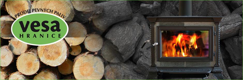Prodej pevných paliv, palivové dřevo, černé, hnědé uhlí Hranice
