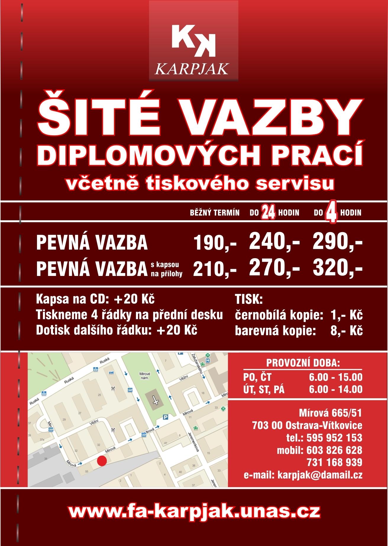 Šité vazby Ostrava