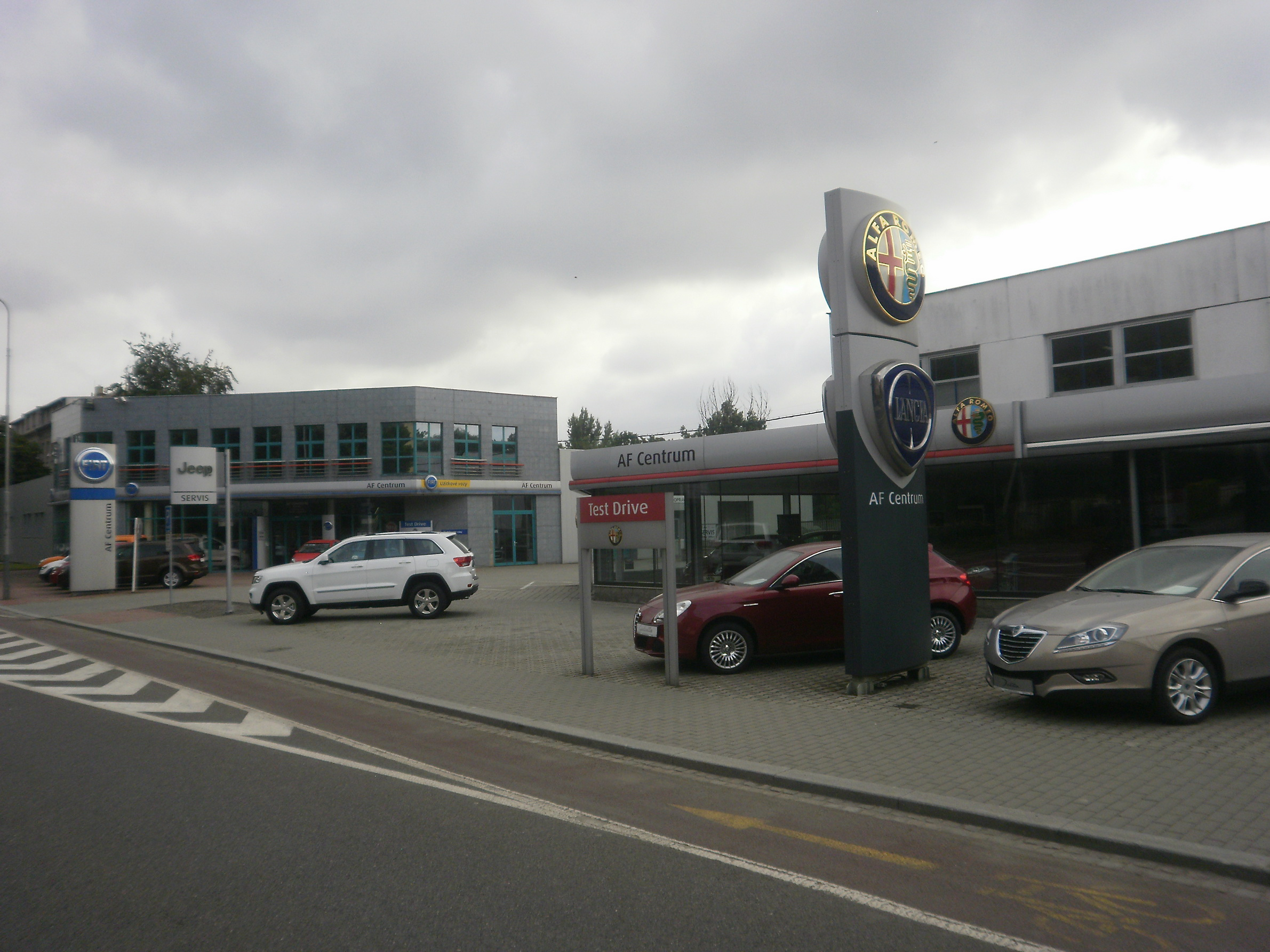Autorizovaný servis Alfa Romeo, Fiat, Lancia, Jeep Ostrava