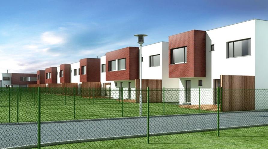 Řadové rodinné domy Ostrava