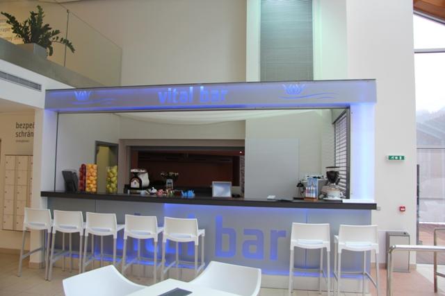 Vital bar - interiérové vybavení