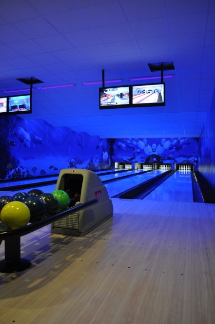 kongresové centrum s bowlingem Jihlava