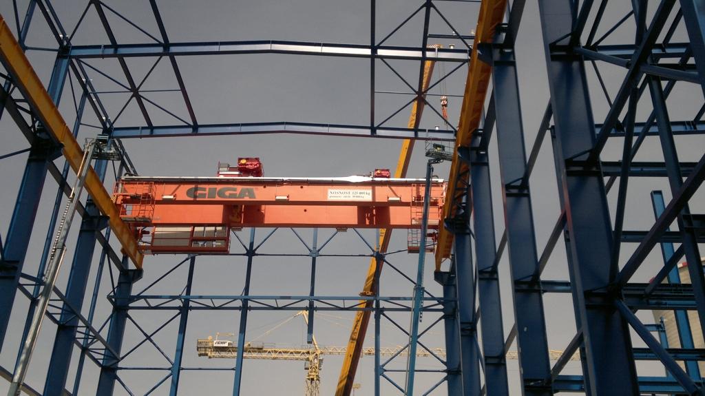 Revize mostových portálových jeřábů Ostrava