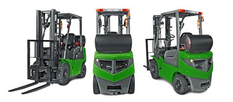 Vysokozdvižný vozík na CNG prodej Litoměřice - vozíky na stlačený zemní plyn