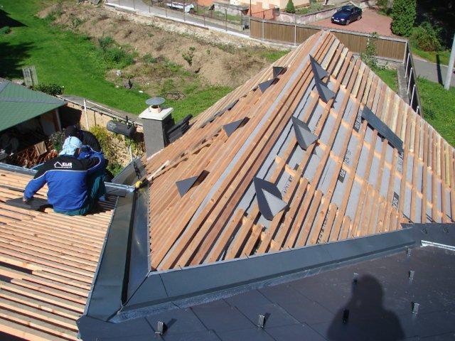 Rekonstrukce šikmých střech