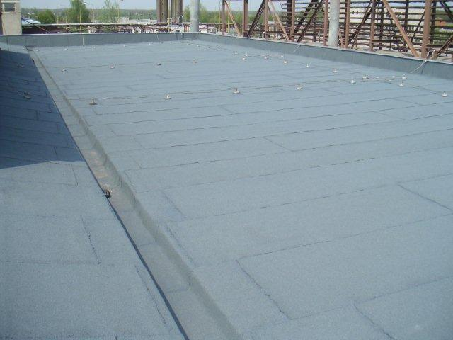 Zhotovení hydroizolace střechy - Kroměříž