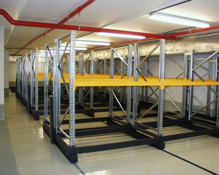 Regálové, skladovací systémy, plošiny, zařízení Zlín, Uherský Brod
