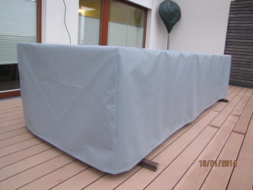 Ochranné obaly, kryty, plachty na zahradní nábytek, houpačky, slunečníky