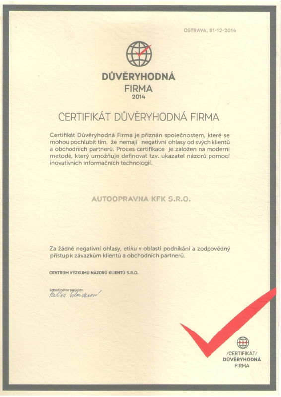Autoservis Ostrava Vítkovice