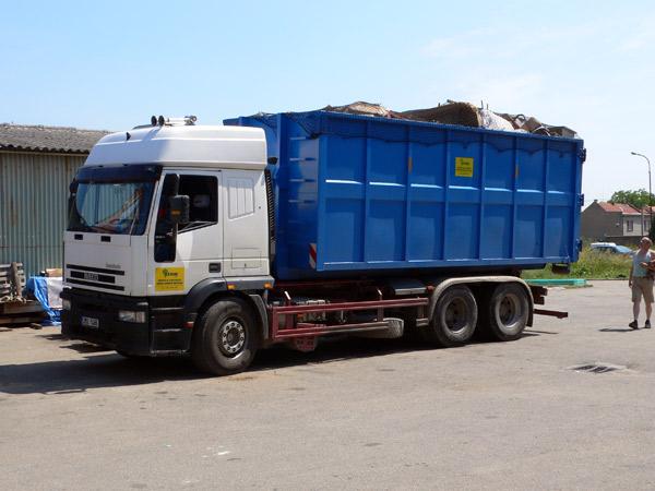 Kontejnerová doprava, přistavení, odvoz kontejnerů, odpadů Prostějov