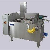 Stroje pro odmašťování součástí a dílů - ultrazvuková zařízení, sběrače olejů