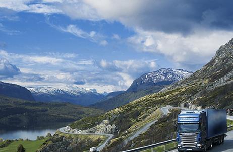 Kamionová nákladní doprava do Bulharska