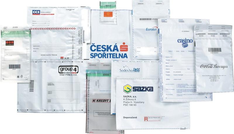 Bezpečnostní bublinkové obálky výroba Praha - obsah je chráněn bezpečnostním uzávěrem obálky