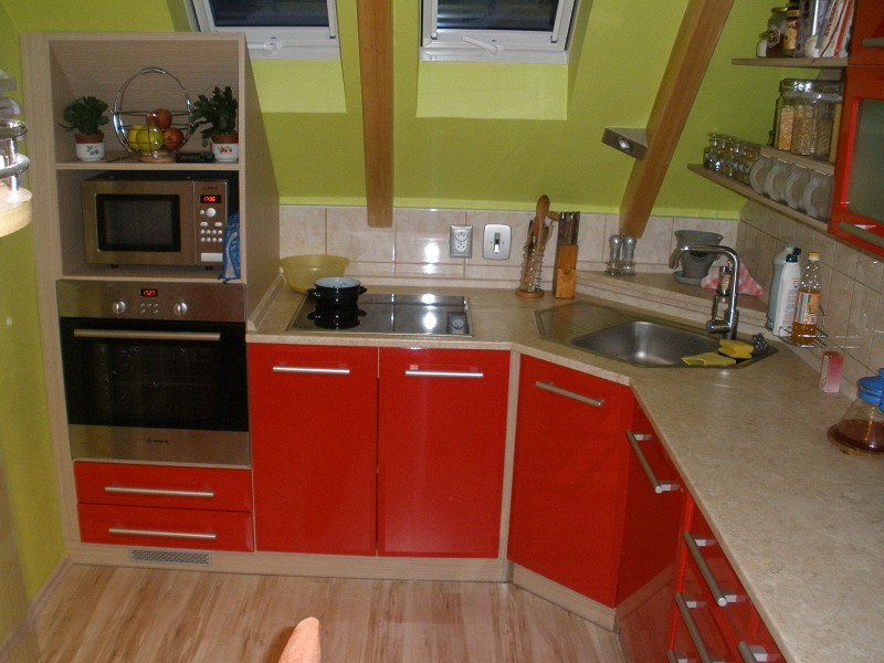 Výroba kuchyně na míru, kuchyňské linky, grafický návrh, Znojmo