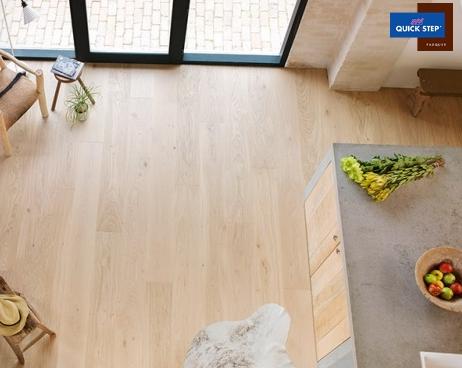 Dovoz, prodej laminátových, dřevěných podlah QUICK STEP  Kroměříž