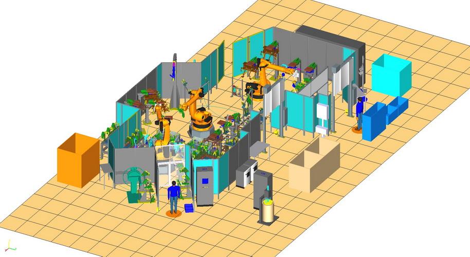 Simulační program 3D projektu Praha