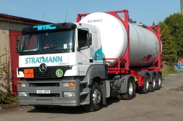 Mezinárodní a vnitrostátní přeprava nebezpečných nákladů, cisternová doprava
