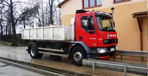 Levná kontejnerová doprava stavební suti Olomouc