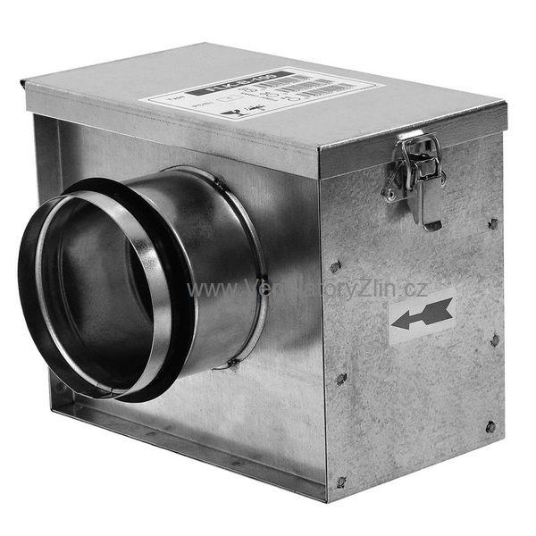 kruhový filtr do vzduchotechnického systému