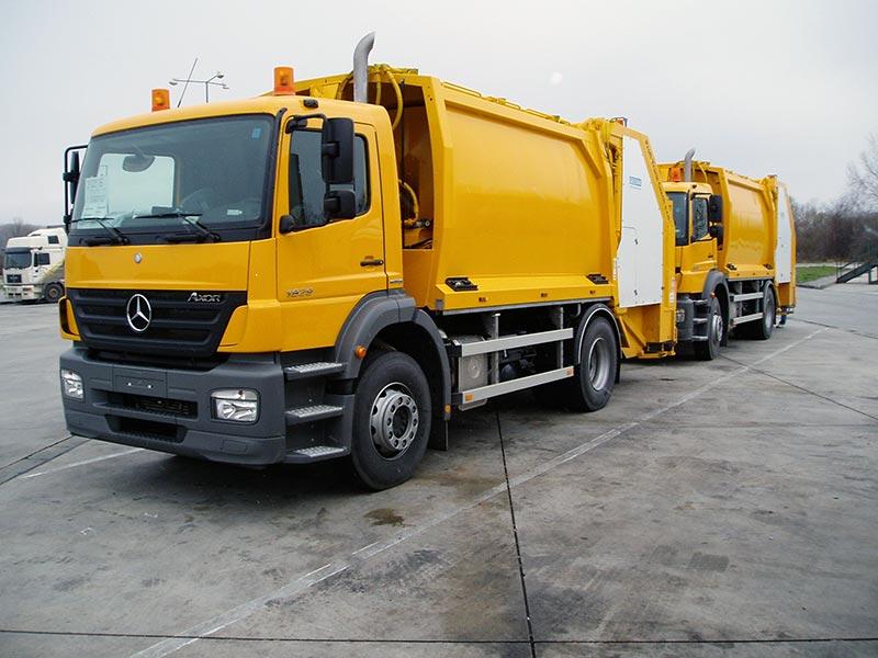 Opravy hydrauliky, nástaveb pro svoz odpadu, nákladních aut