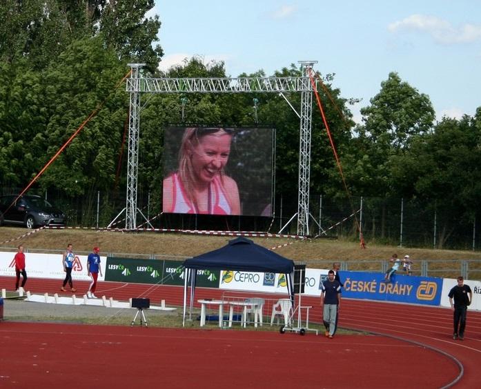 velkoplošné LED obrazovky k pronájmu Praha