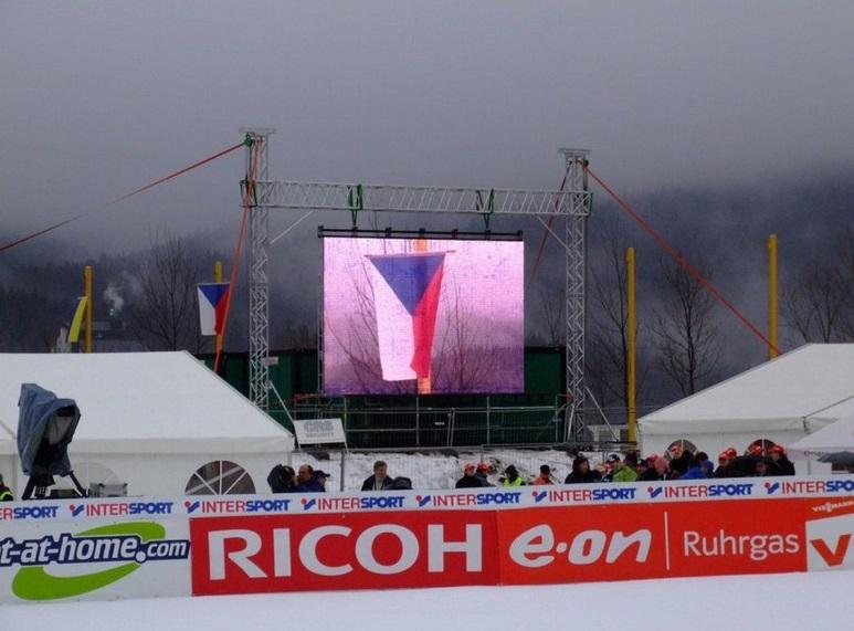 velkoplošné LED obrazovky Praha