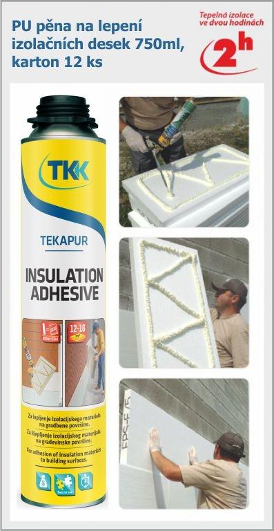 Pěna pro lepení izolačních desek pro truhláře, stolaře či stavební firmy - profesionální izolace