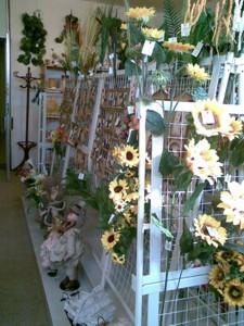 Umělé květiny, dekorativní a floristické zboží Olomouc