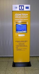 Autobusové jízdenky přes internet