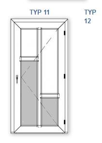 Vchodové dveře plastové  Nové Město nad Metují