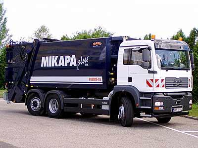 Komplexní služby - nakládání s odpady Praha