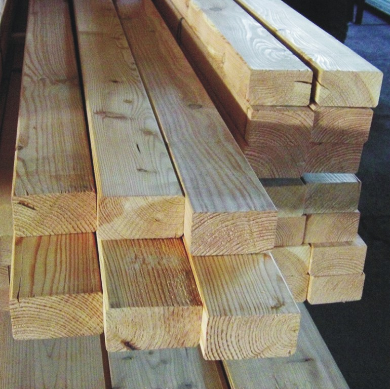 Trámy na pergoly a podlahy ve vysoké kvalitě - výroba, prodej