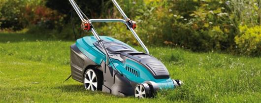 Výkonná elektrická sekačka na trávu PowerMax Gardena