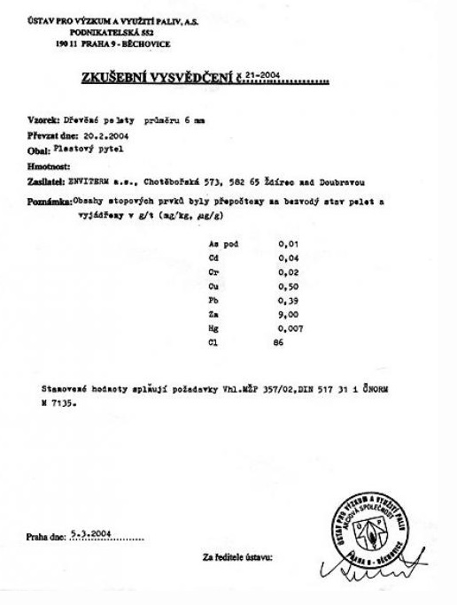 Dřevěné pelety, vytápění pomocí pelet, Hradec Králové