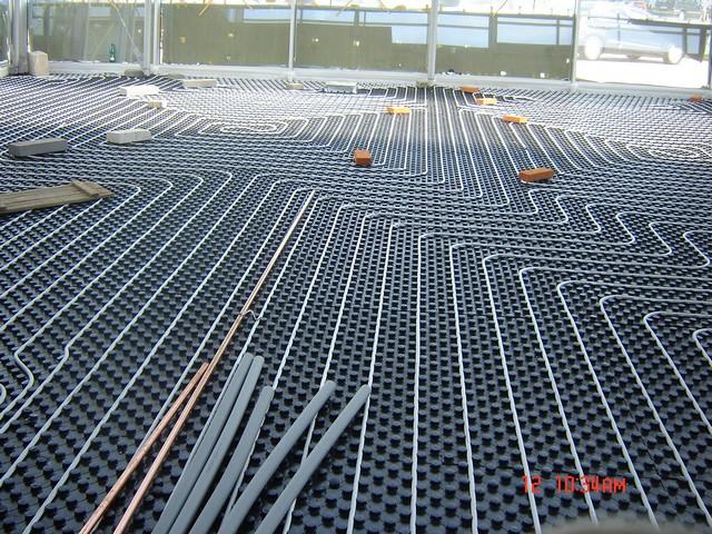 Montáž, instalace, servis podlahového vytápění, ústředního topení