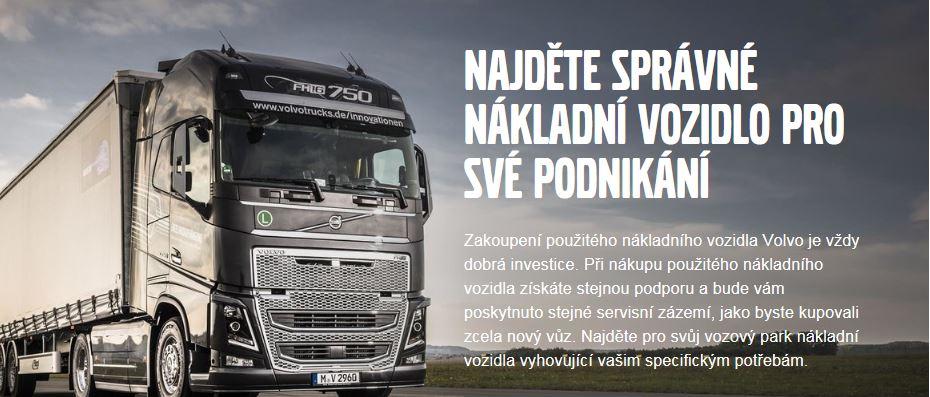 Prodej použitých nákladních vozů Volvo - kontaktujte přímo nás!