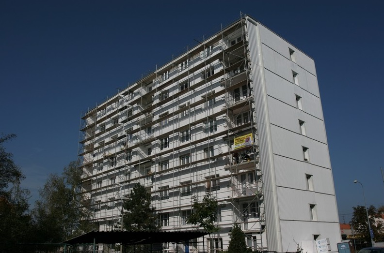 Stavební práce, půjčovna lešení a plošin Plzeň