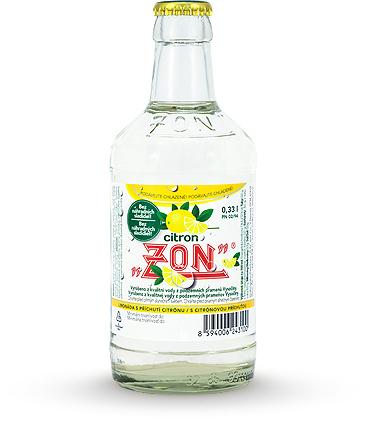 Sirupy a limonády  značky ZON v Třebíči