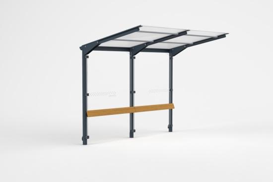 Městský mobiliář, zastávkové přístřešky, stojan na kola, informační tabule