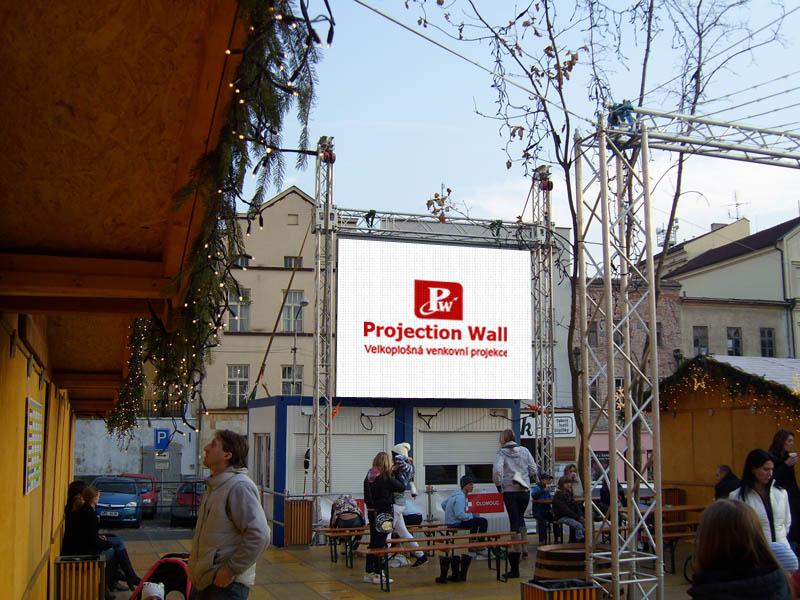 Prodej velkoplošných reklamních LED obrazovek Olomouc