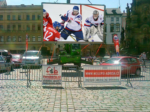 Prodej reklamních LED obrazovek Olomouc