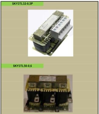 Trojfázové tlmivky, jednofázové tlmivky - výroba