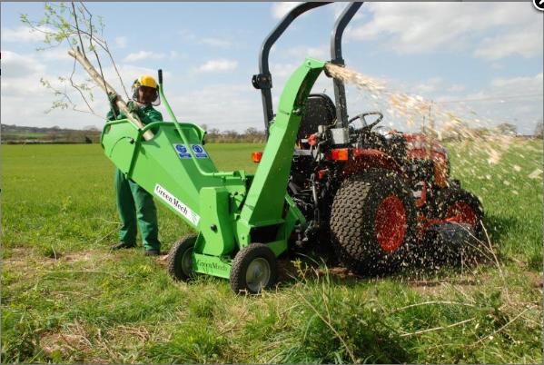 Štěpkovače za traktor Bořetice