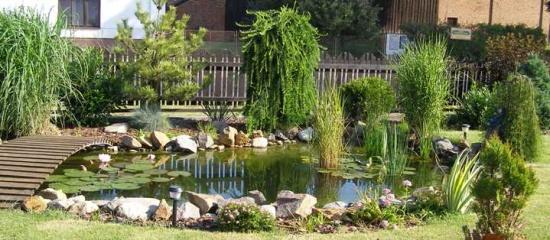 Příslušenství pro zahradní jezírka