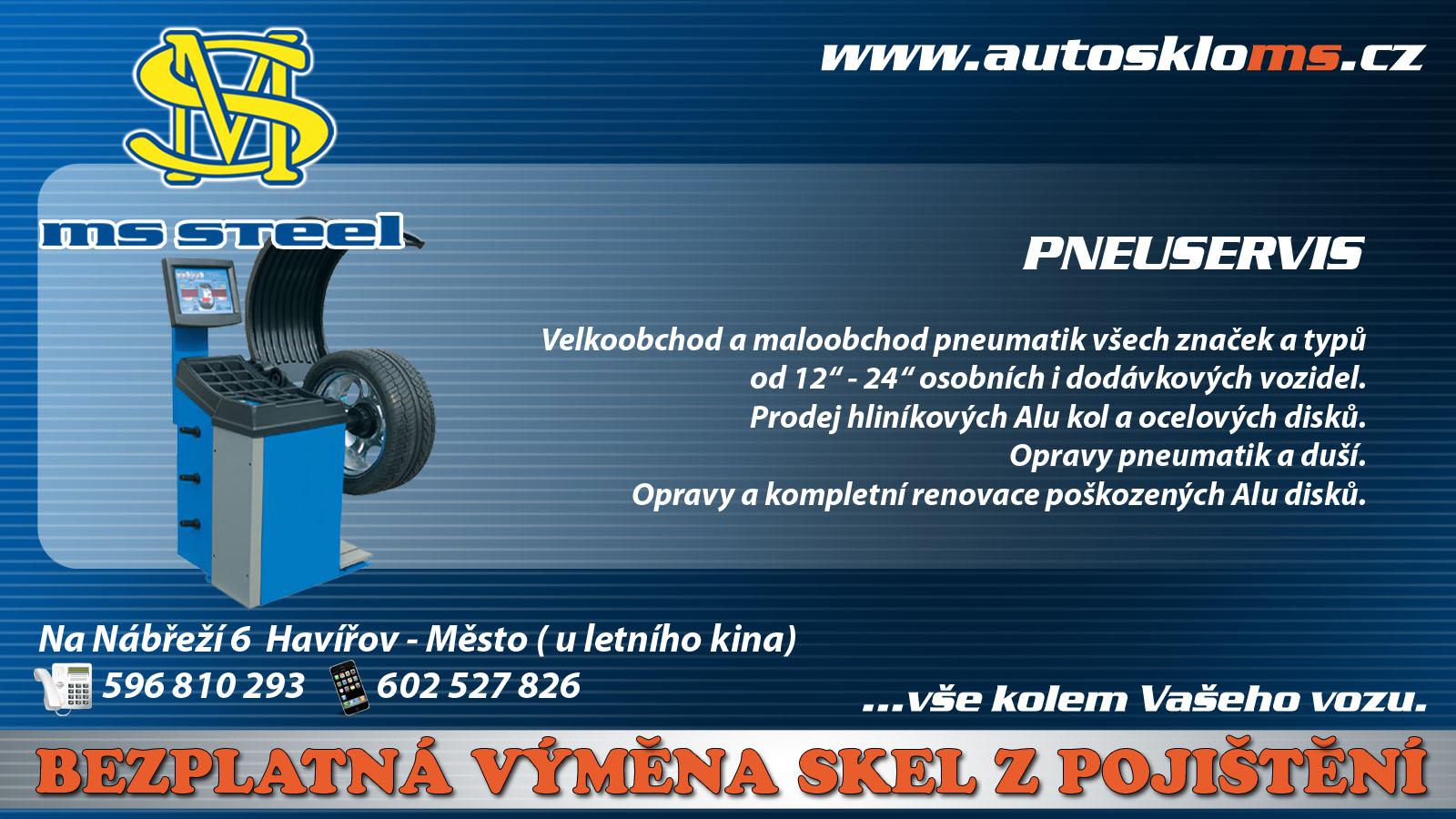 Prodej pneumatik Havířov