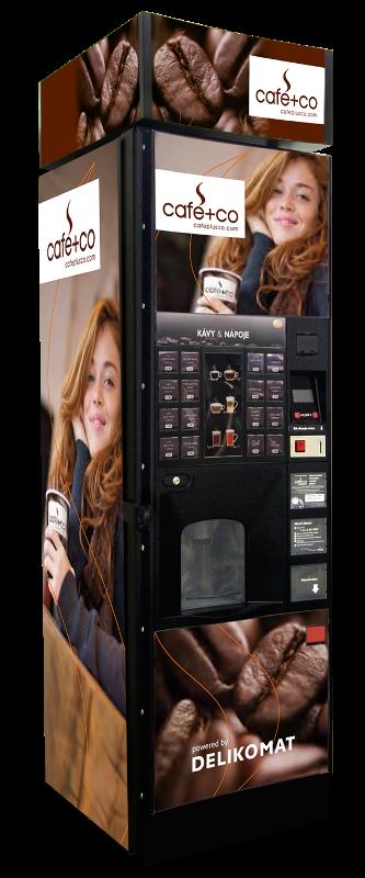Nápojový automat na kávu a teplé nápoje X1